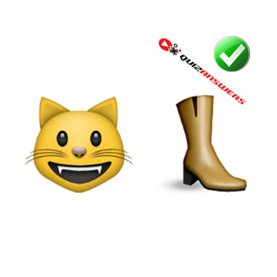 http://www.quizanswers.com/wp-content/uploads/2015/02/cat-boot-guess-the-emoji.jpg