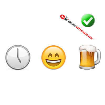 http://www.quizanswers.com/wp-content/uploads/2015/02/clock-happy-emoticon-beer-guess-the-emoji.jpg