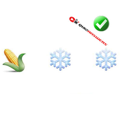 http://www.quizanswers.com/wp-content/uploads/2015/02/corn-cob-snowflakes-guess-the-emoji.jpg