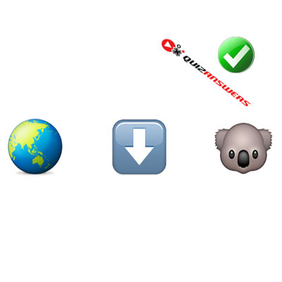 http://www.quizanswers.com/wp-content/uploads/2015/02/earth-arrow-koala-guess-the-emoji.jpg
