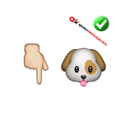 http://www.quizanswers.com/wp-content/uploads/2015/02/finger-down-dog-guess-the-emoji.jpg