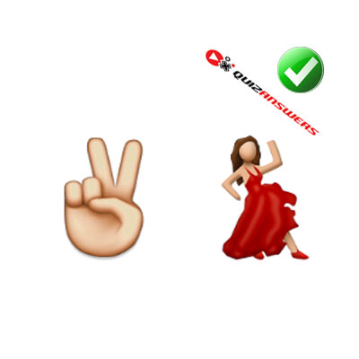 http://www.quizanswers.com/wp-content/uploads/2015/02/fingers-up-v-woman-dancing-guess-the-emoji.jpg