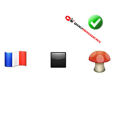 http://www.quizanswers.com/wp-content/uploads/2015/02/french-flag-black-box-mushroom-guess-the-emoji.jpg