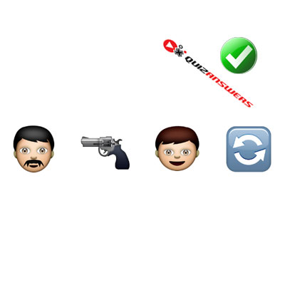 http://www.quizanswers.com/wp-content/uploads/2015/02/man-gun-man-arrows-guess-the-emoji.jpg