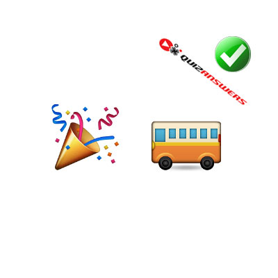http://www.quizanswers.com/wp-content/uploads/2015/02/party-cone-bus-guess-the-emoji.jpg