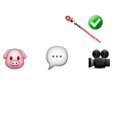 http://www.quizanswers.com/wp-content/uploads/2015/02/pig-bubble-camera-guess-the-emoji.jpg