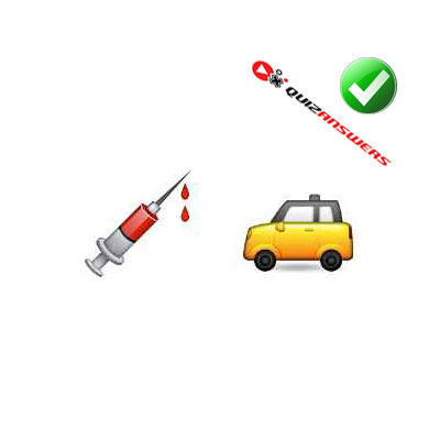 http://www.quizanswers.com/wp-content/uploads/2015/02/syringe-car-guess-the-emoji.jpg