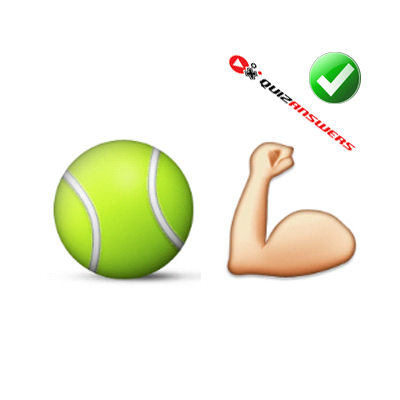 http://www.quizanswers.com/wp-content/uploads/2015/02/tennis-ball-arm-muscle-guess-the-emoji.png
