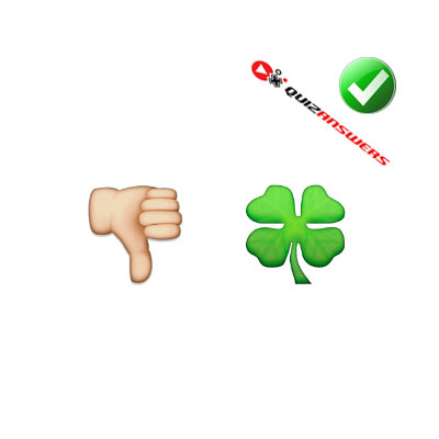 http://www.quizanswers.com/wp-content/uploads/2015/02/thumb-down-clover-guess-the-emoji.jpg