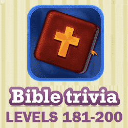 Bible Trivia Questions and Answers Levels 181 - 200