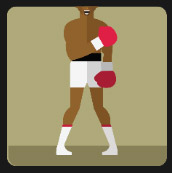 pugilist man icon quiz
