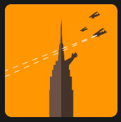 skyscrapers assaulted quiz icon
