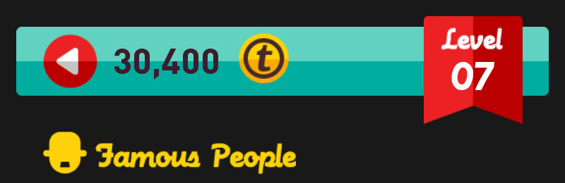 Icon Pop Quiz Famous People  Level 7 part1