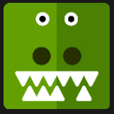 green dyno without an teeth character
