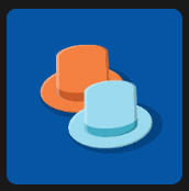 orange and blue hat quiz