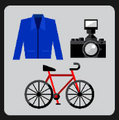 quiz camere bike blue suit famous people
