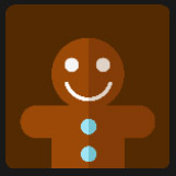 cookie character icon pop