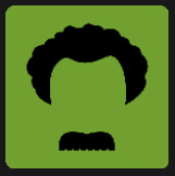man with mustache and curly hair quiz
