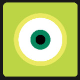 green and yellow big eyes quiz