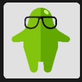 flubber with black glasses tv anf film
