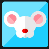 small mouse with big ears character