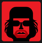 military hat big black glasses quiz icon