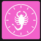 clock shape and scorpion level 3 tv and film