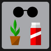 quiz level 7 pot plant glasses and can