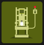 electrical chair quiz icon