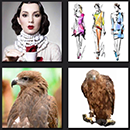 4 pics 1 movie level 4 hawk, eagle, models and woman