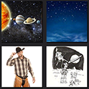 4 pics 1 movie man cowboy and planets