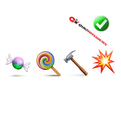 https://www.quizanswers.com/wp-content/uploads/2015/01/candies-hammer-bolt-guess-the-emoji.jpg