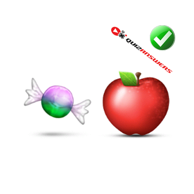 https://www.quizanswers.com/wp-content/uploads/2015/01/candy-piece-apple-guess-the-emoji.png