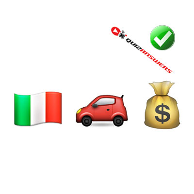 https://www.quizanswers.com/wp-content/uploads/2015/01/italy-flag-car-money-bag-guess-the-emoji.jpg
