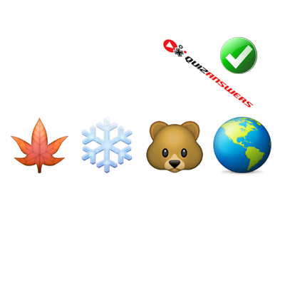 https://www.quizanswers.com/wp-content/uploads/2015/01/leaf-snowflake-bear-earth-guess-the-emoji.png