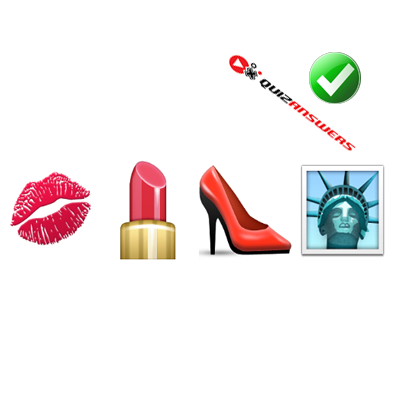 https://www.quizanswers.com/wp-content/uploads/2015/01/lips-lipstick-shoe-liberty-statue-guess-the-emoji.png