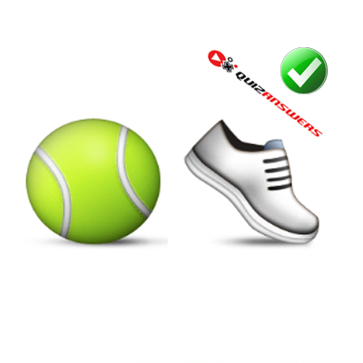 https://www.quizanswers.com/wp-content/uploads/2015/01/tennis-ball-white-shoe-guess-the-emoji.png