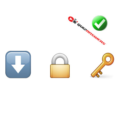 https://www.quizanswers.com/wp-content/uploads/2015/02/arrow-down-lock-key-guess-the-emoji.jpg