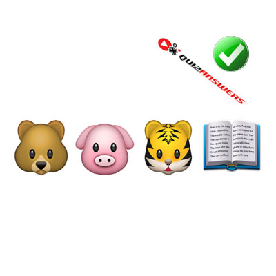 https://www.quizanswers.com/wp-content/uploads/2015/02/bear-pig-tiger-book-guess-the-emoji.jpg