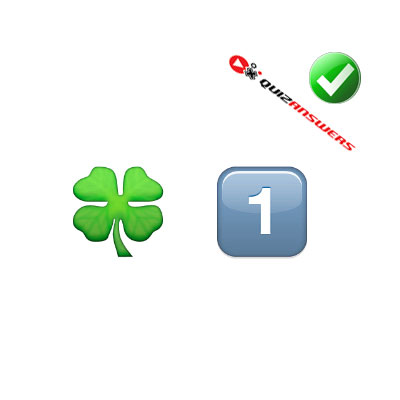 https://www.quizanswers.com/wp-content/uploads/2015/02/clover-number-one-guess-the-emoji.jpg