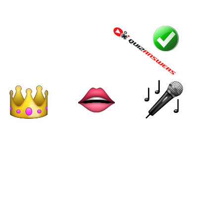 https://www.quizanswers.com/wp-content/uploads/2015/02/crown-lips-microphone-guess-the-emoji.jpg