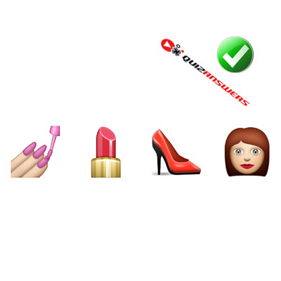 https://www.quizanswers.com/wp-content/uploads/2015/02/nails-lipstick-shoe-girl-guess-the-emoji.jpg