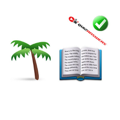 https://www.quizanswers.com/wp-content/uploads/2015/02/palm-tree-book-guess-the-emoji.jpg