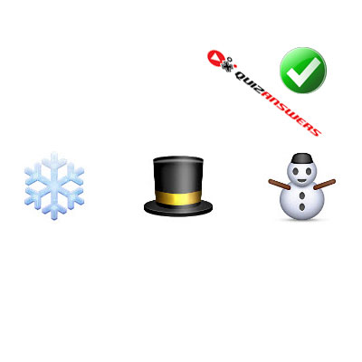 https://www.quizanswers.com/wp-content/uploads/2015/02/snowflake-hat-snowman-guess-the-emoji.jpg