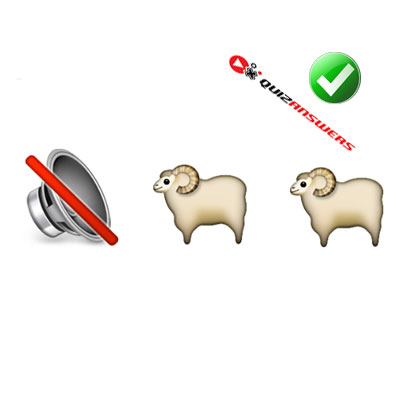 https://www.quizanswers.com/wp-content/uploads/2015/02/speaker-two-sheep-guess-the-emoji.jpg