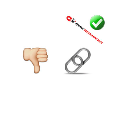 https://www.quizanswers.com/wp-content/uploads/2015/02/thumb-down-chain-guess-the-emoji.jpg