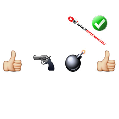 https://www.quizanswers.com/wp-content/uploads/2015/02/two-thumbs-up-gun-bomb-guess-the-emoji.jpg