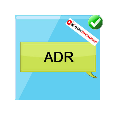 ADR texting acronyms