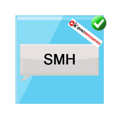 SMH texting acronyms