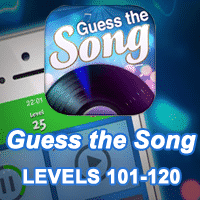 Guess the Song Answers levels 101-120